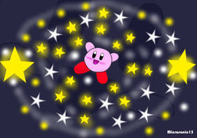 Kirby In Space by Silverfur15