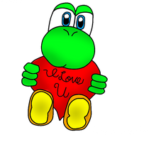 #2 Yoshi Loves You^^ by Silverfur15