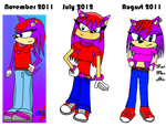 Old To New Farrah The Hedgehog