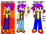 Old To New Fierce The Hedgehog
