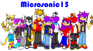 Here is all my characters... for now by Silverfur15