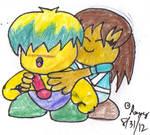 RQ: Celine Hugs Tuff