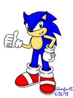 Sonic The Hedgehog 2013 by Silverfur15