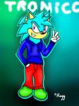 GiftArt: Tronicc The Hedgehog