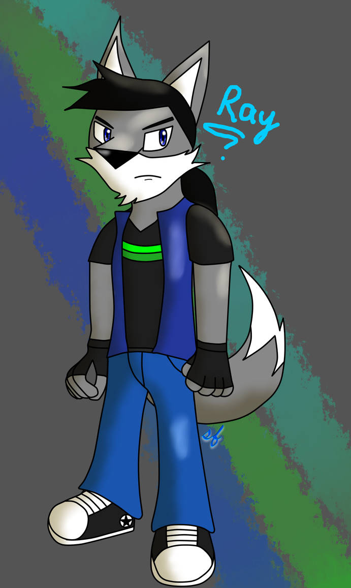 Conor 'Ray' Winter by Silverfur15