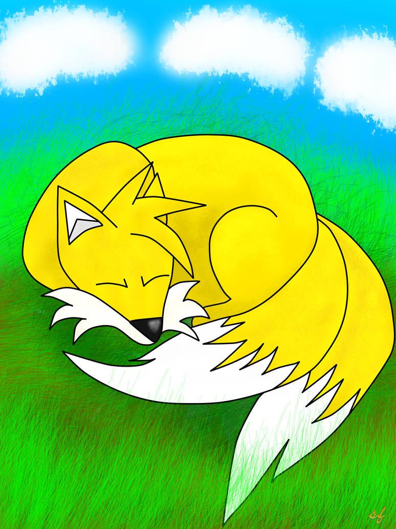 Sleeping Tails by Silverfur15
