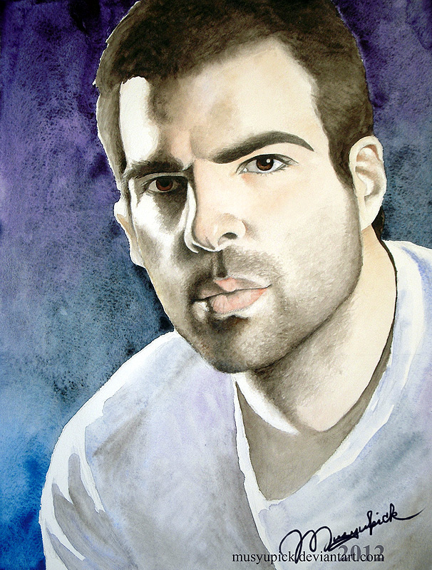Zachary Quinto by Musyupick