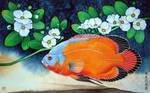 Water Flowers by Musyupick