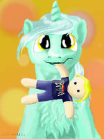 Lyra's Teddy-Human by TheSouthernNerd