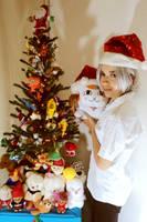 Say Merry Xmas Nyanko-sensei by PeaceMakerSama