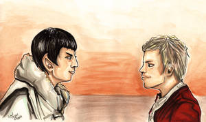 K/S day 2014 - The Search for Spock by PeaceMakerSama