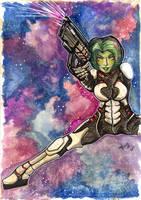 Gamora: Intergalactic by PeaceMakerSama