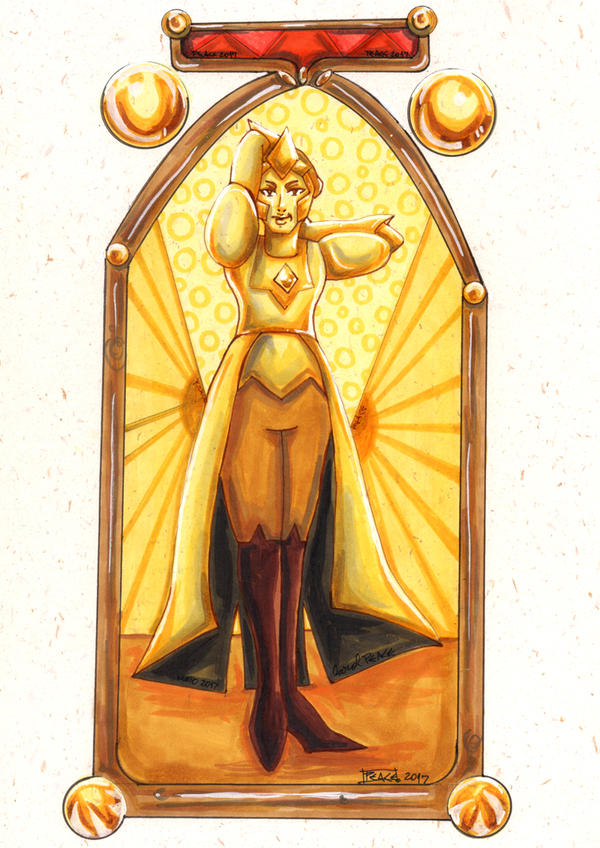 Yellow Diamond: Back to reality by PeaceMakerSama