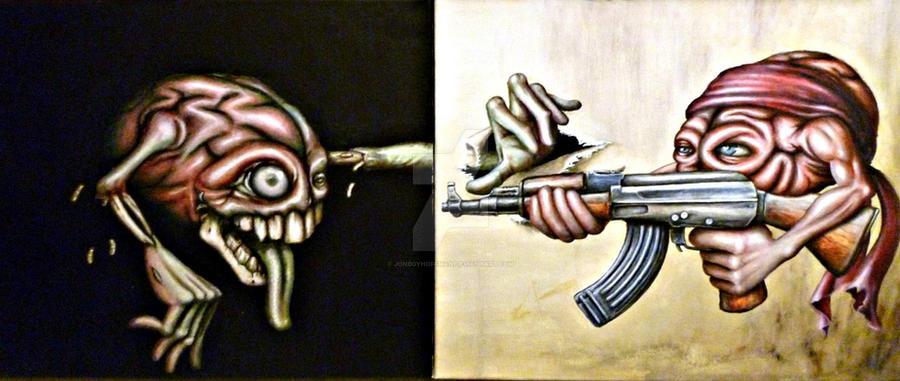 Cerebral Assassin by Jonboyhoffman