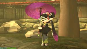Kimono Callie by RokaneShadow