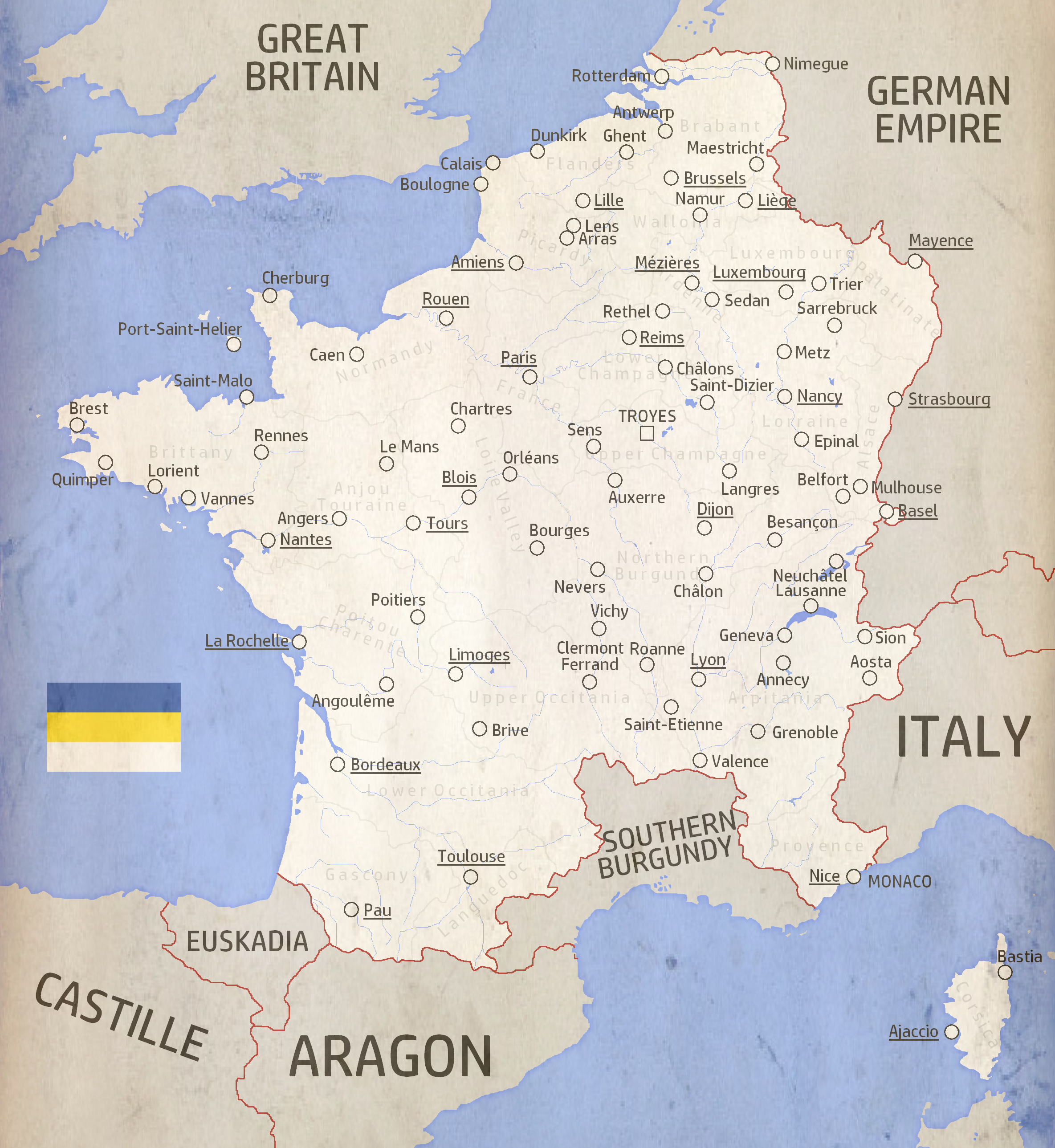 AH Maps Champenois France by Audiseus on DeviantArt