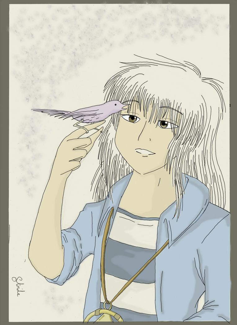Bakura Ryou. by KingoftheCrumpets