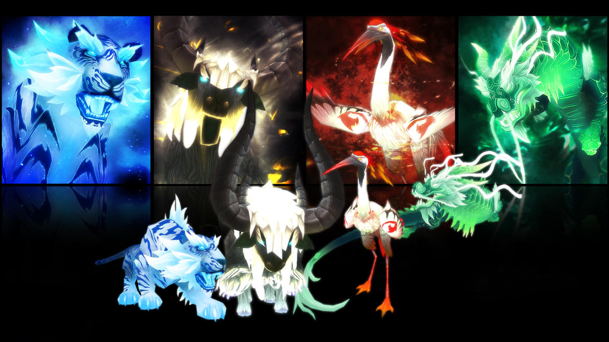 [UPDATED] The Celestials Wallpaper by Thunderspeed
