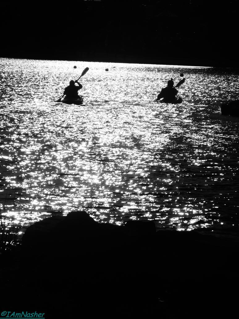 2 canoes by IamNasher