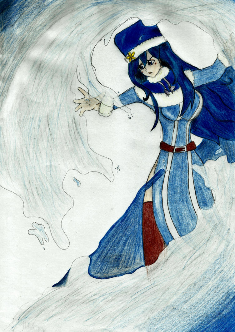 The Water Mage Juvia Lockser by IamNasher