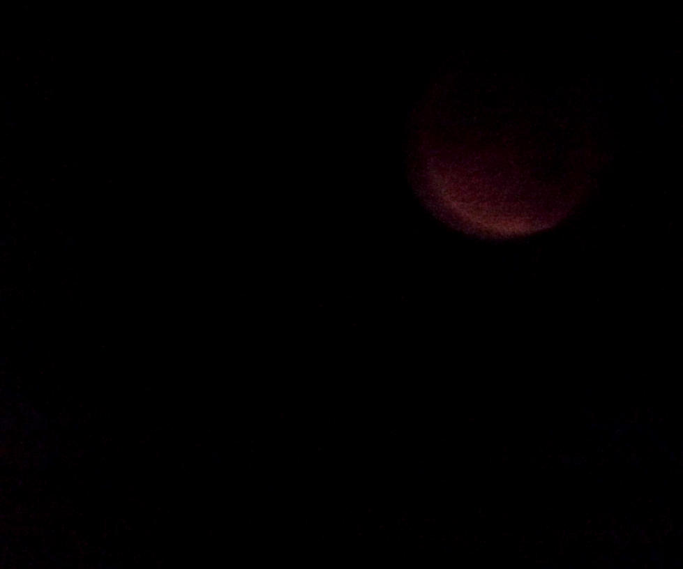 Super blood moon by IamNasher