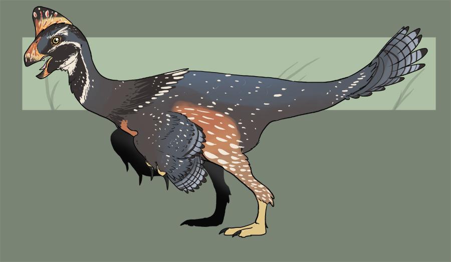 Oviraptorosaur by Spikeheila