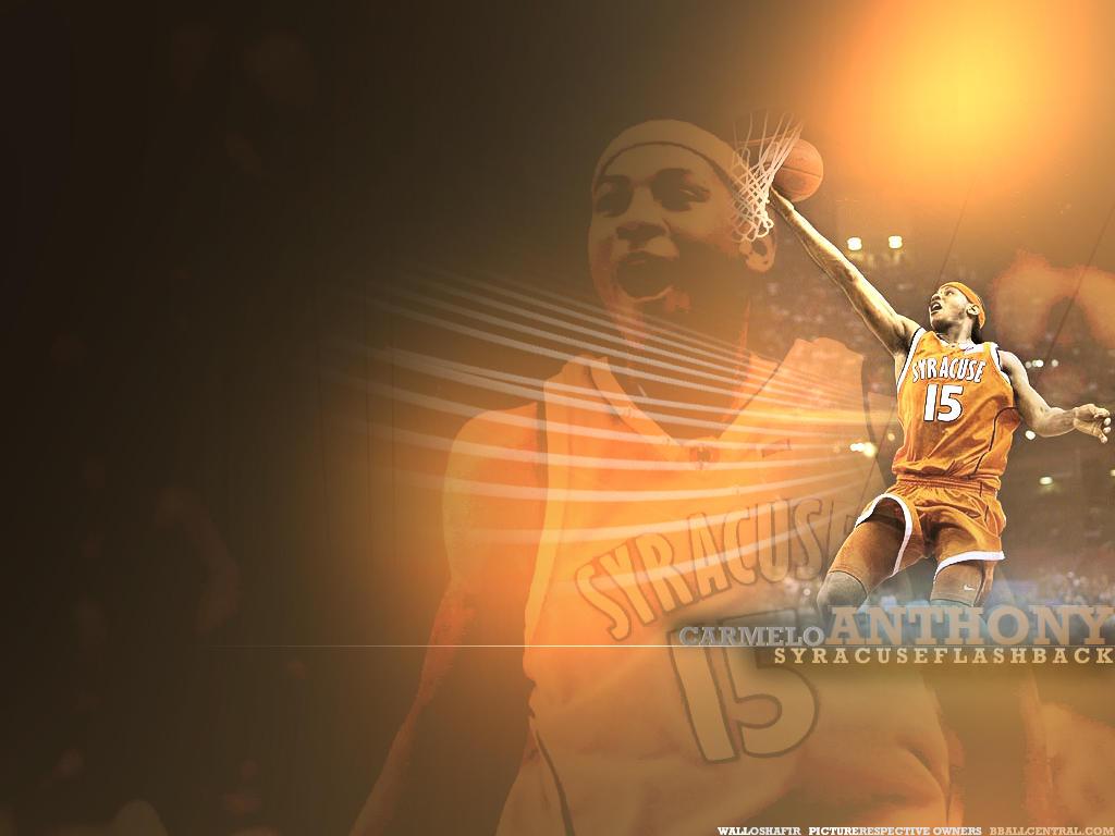 Syracuse basketball caricature