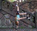 Lara Croft in action 2