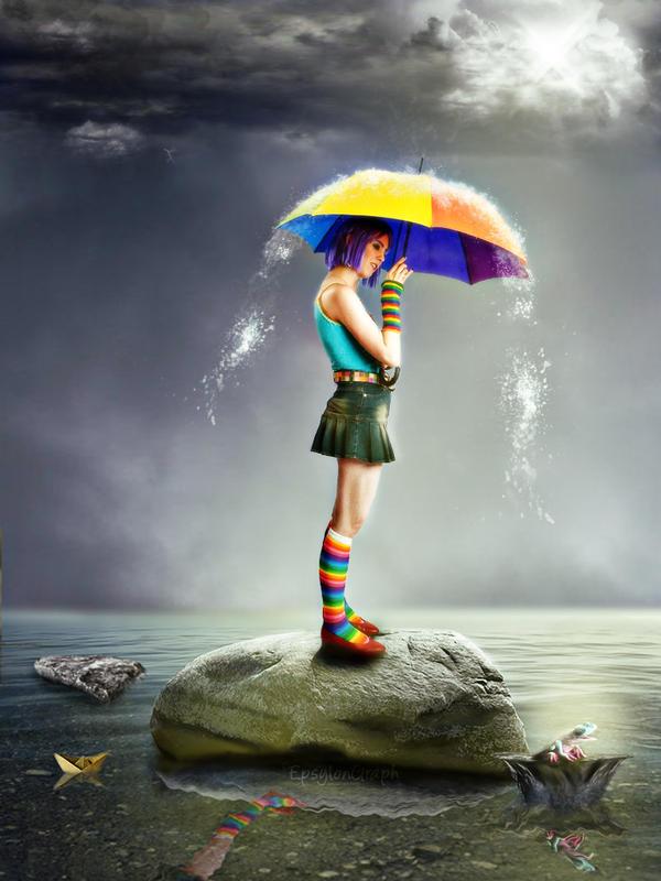 UNDER THE RAIN by EpsylonGraph