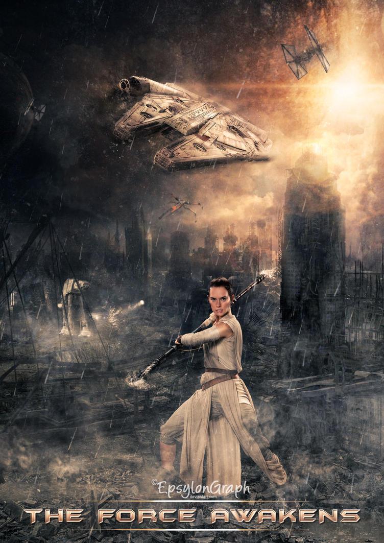 The Force awakens by EpsylonGraph