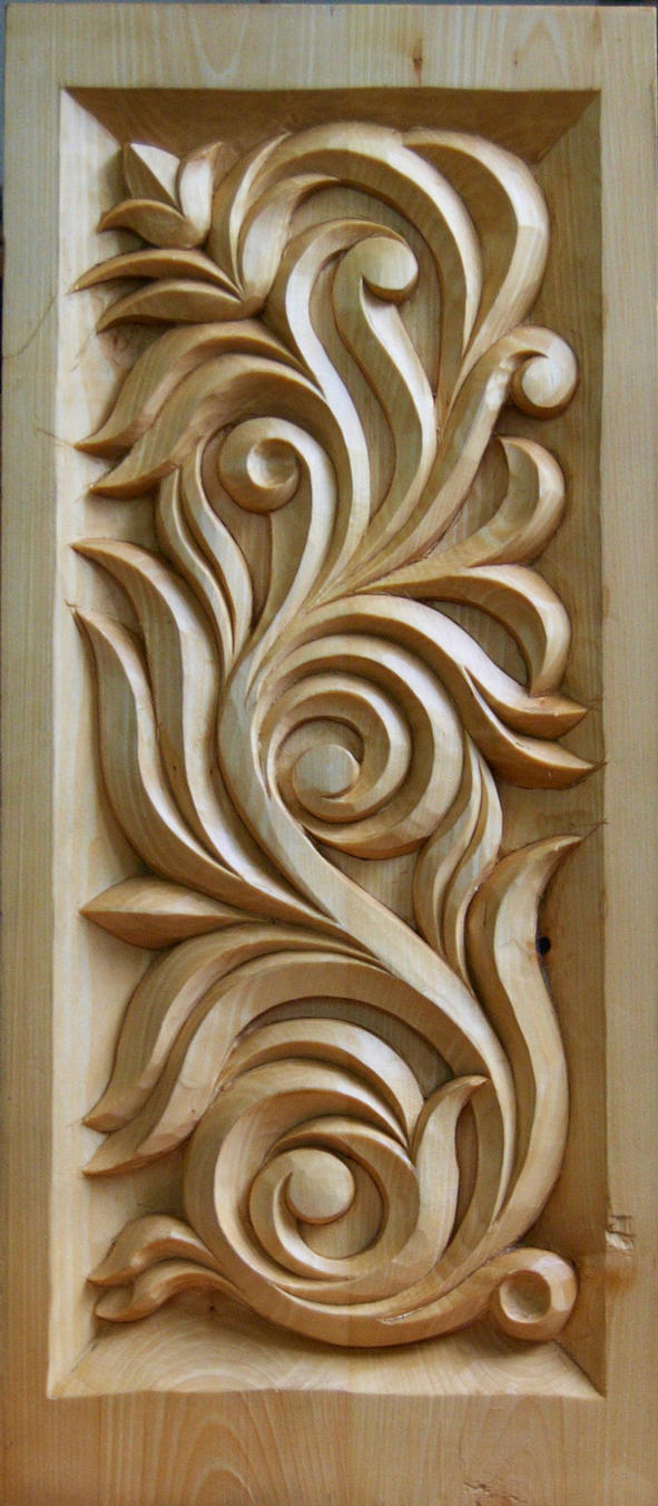 wood carving by polusar