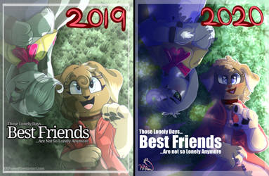 Best Friends Before and After