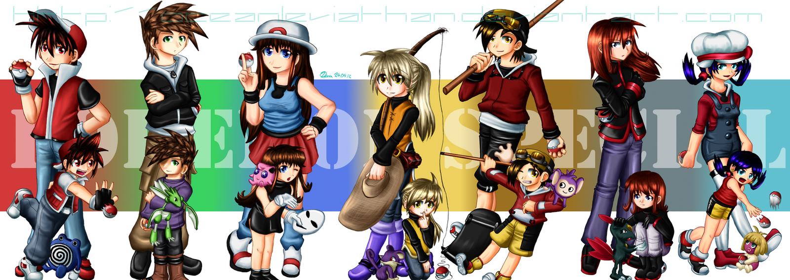Anime Characters Grown Up : Pokespe all grown up by oceanleviathan on deviantart