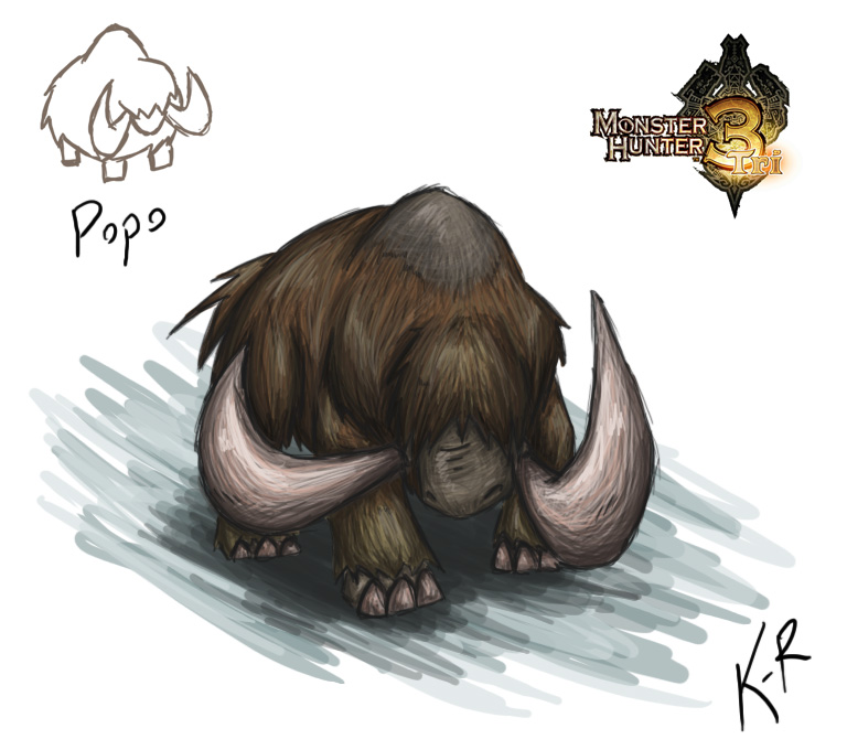 the image is not from me, and it comes from monster hunter, as you can see x)