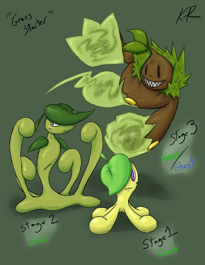 Grass Starter Pokemon Wallpaper