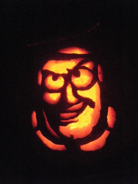 Buzz Lightyear Pumpkin By Gipity88
