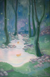 Violet Autumn by observart