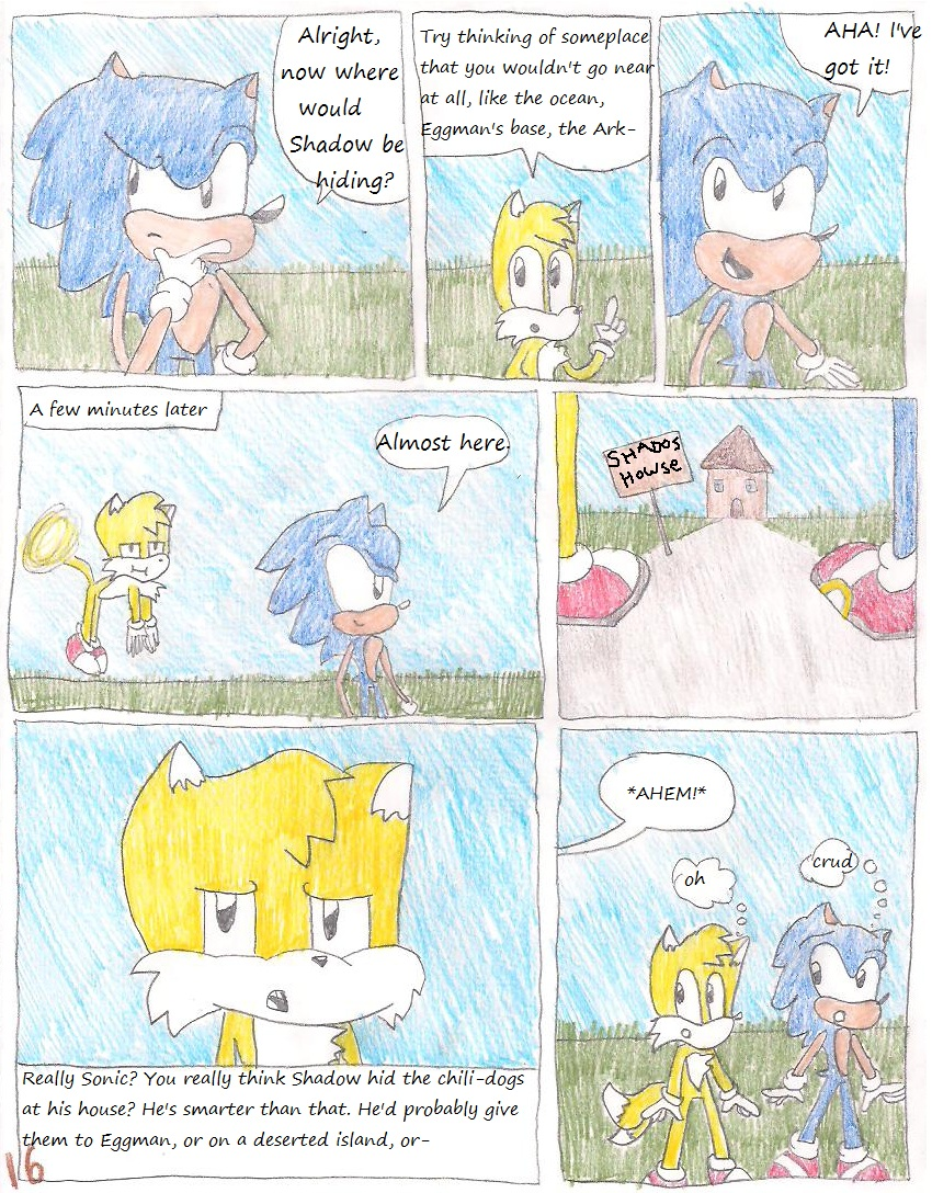SoniComical Page 16 by ChaosCreator42