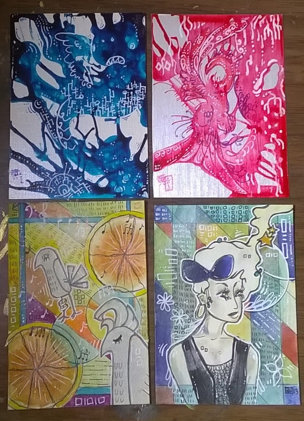 Old ATCs by LimehouseBlues