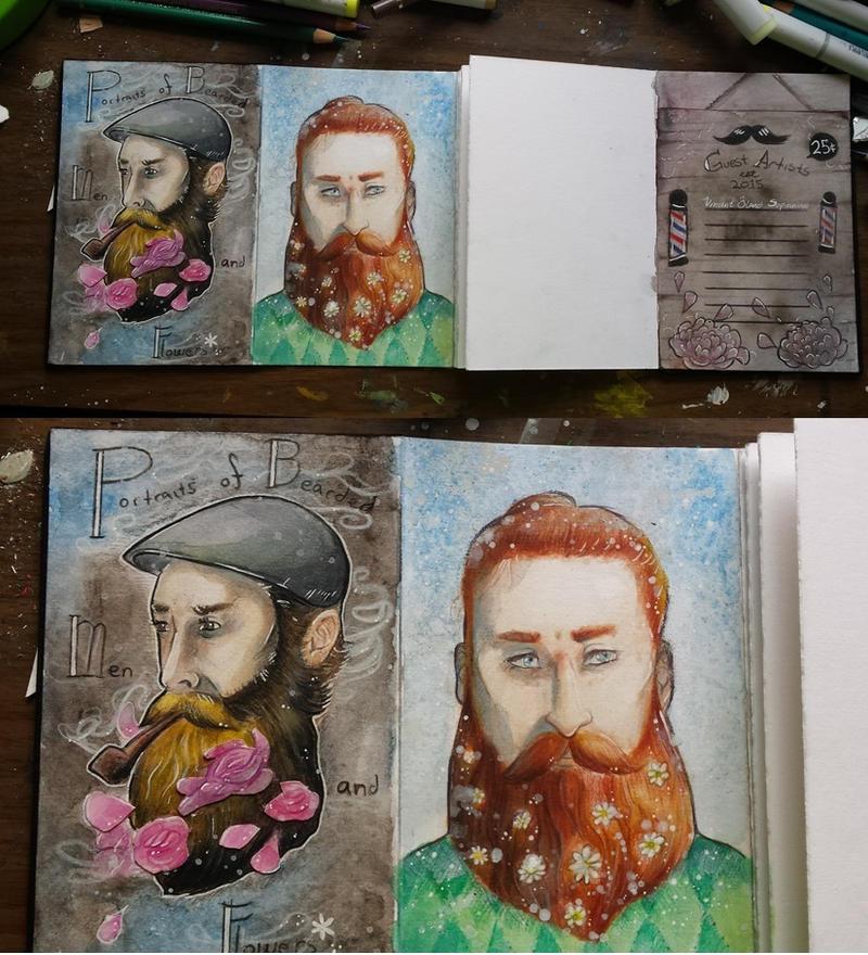 Urban Sketchbook Exchange by LimehouseBlues
