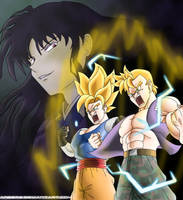 Saiyans Charge Up by angers