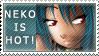 Neko Stamp by angers