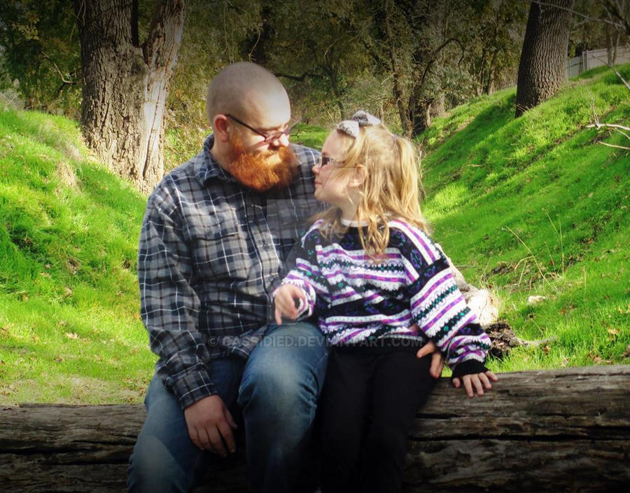 Haley and daddy 2 by cassidied
