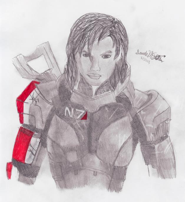 FemShep by Mass-Effect-lover
