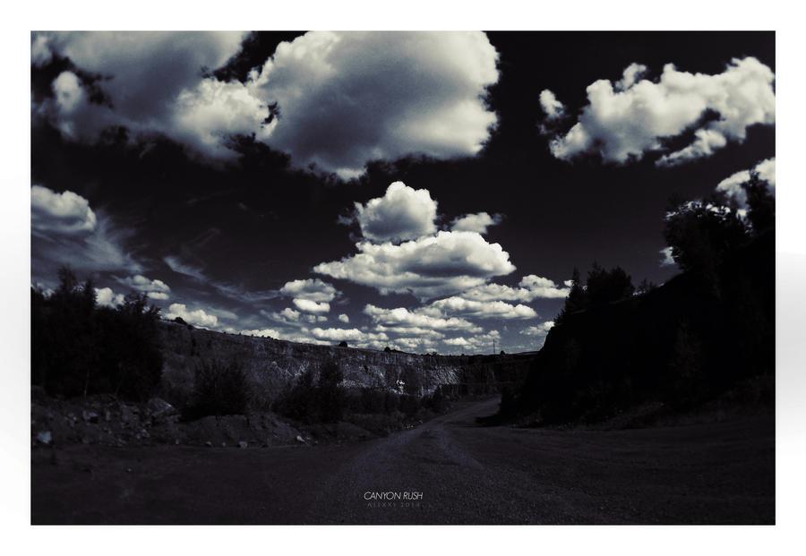Canyon Rush by alex-xs