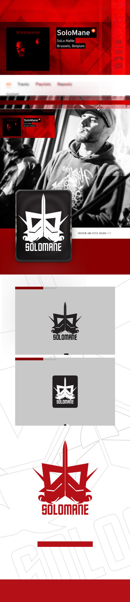 Solomane Logo by alex-xs