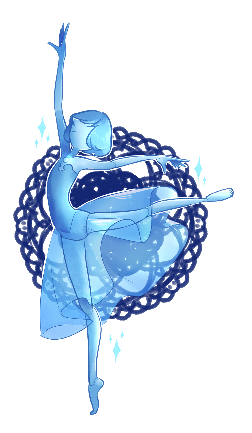 [Steven Universe] Blue Diamond's Pearl by ...