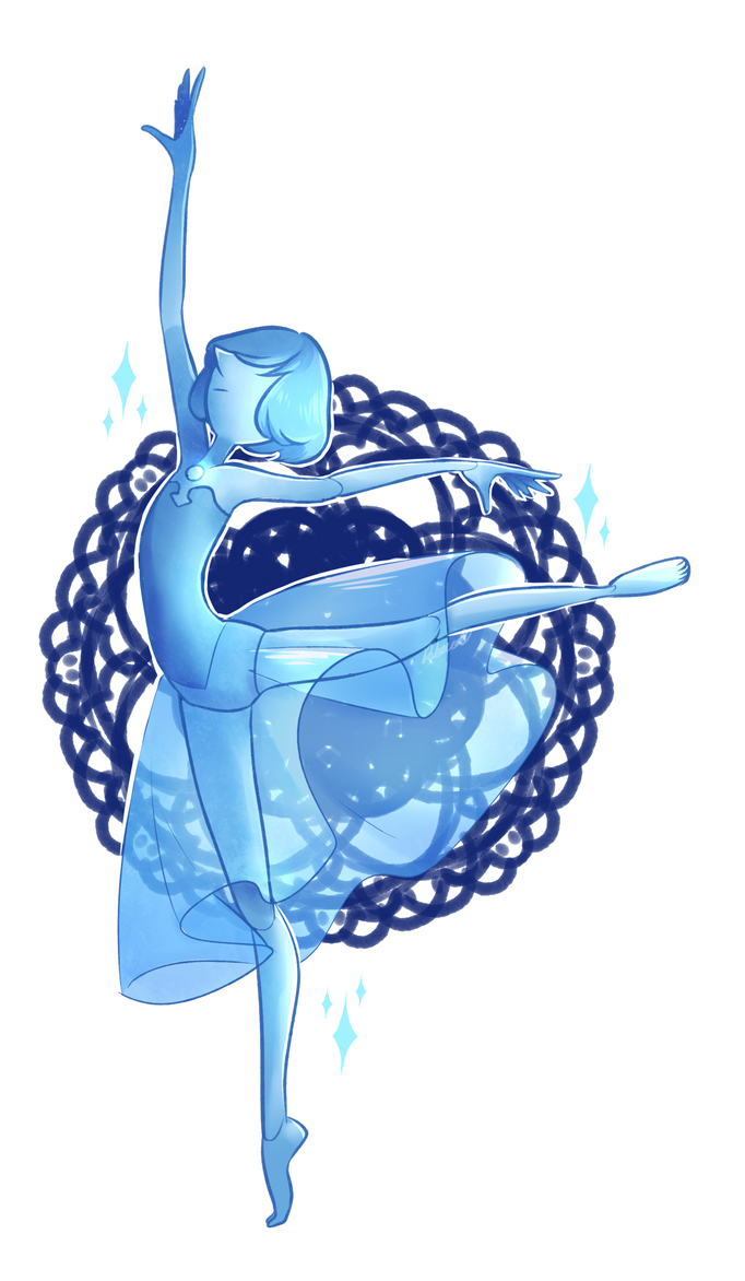 "The latest Steven Bomb was Awesome! I really liked the new characters and stuff.  Anyways, this is the blue pearl from ""The Answer"". I really liked her design for some reason, so i felt like d..."
