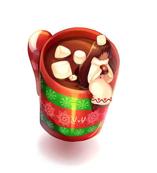 [Cookie Run] Cocoa Cookie Cup by RebeccaMetroStory