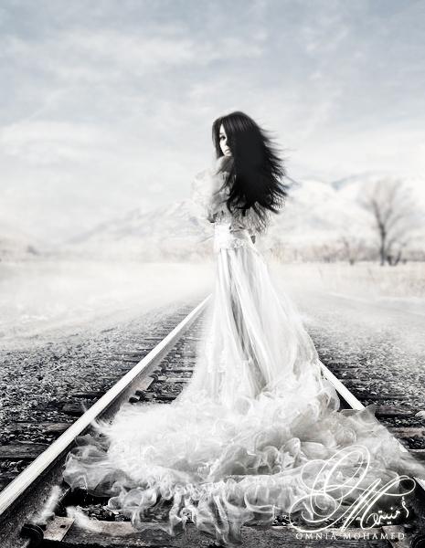 - Fade Away - by OmniaMohamedArt